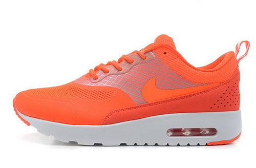 Nike Air Max Thea Womens Orange White Closeout